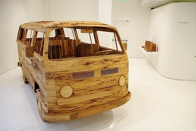 Первый в мире деревянный микроавтобус